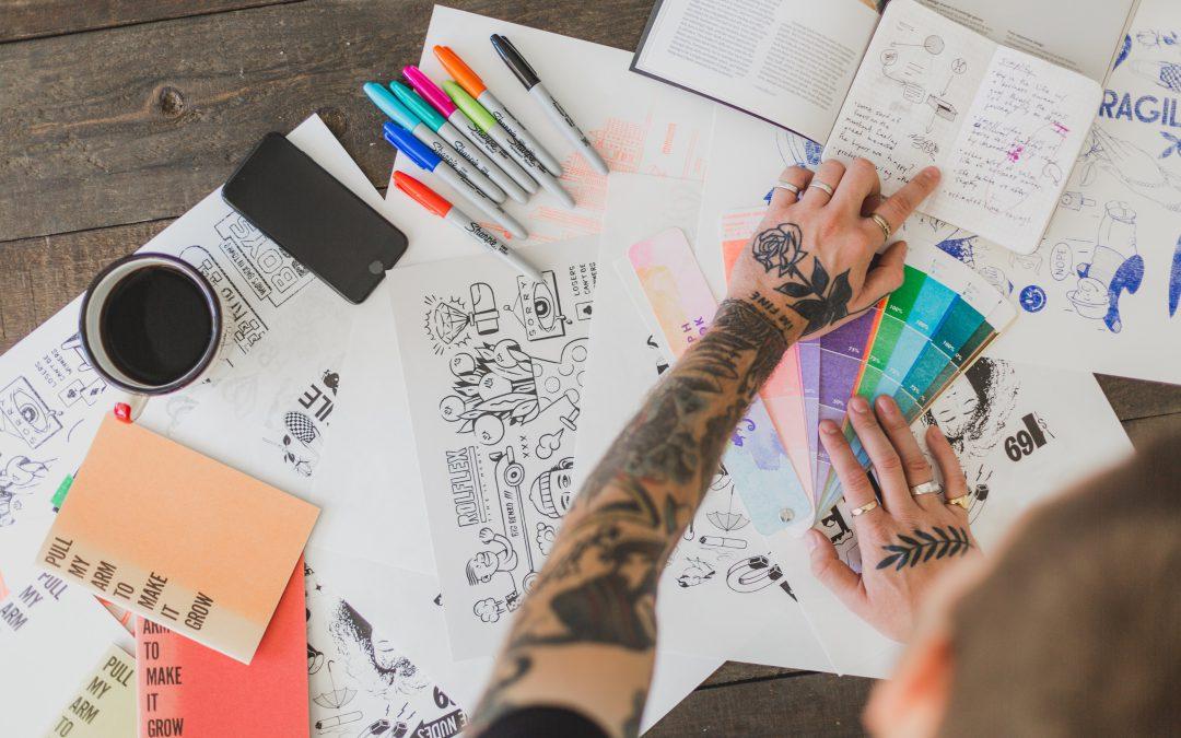 """Le """"TRE C"""" dell'organizzazione personale: carta, costanza e creatività"""